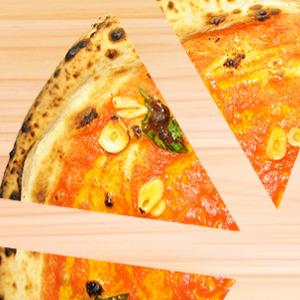 ピザはみんなで