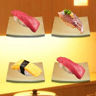 ペアを探せ!ネタ被り寿司